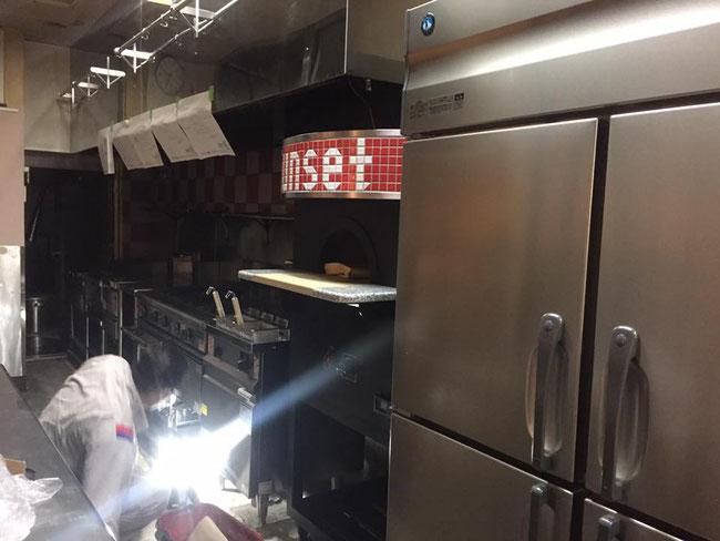 厨房ガス工事