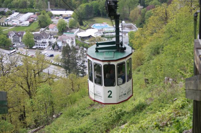 Seilbahn in Bad Harzburg