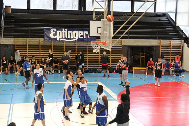 Siegermannschaft Basketball im 2017