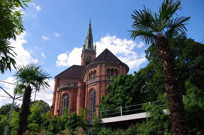 Am geografischen Mittelpunkt der Landeshauptstadt NRW