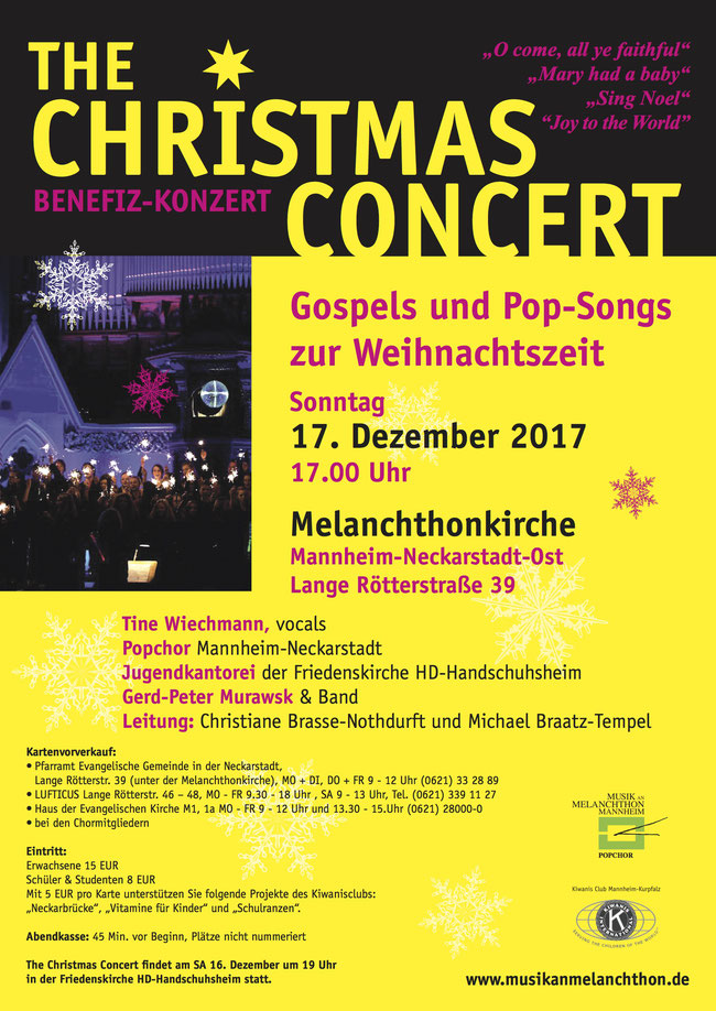 Plakat Christmas Concert 2017
