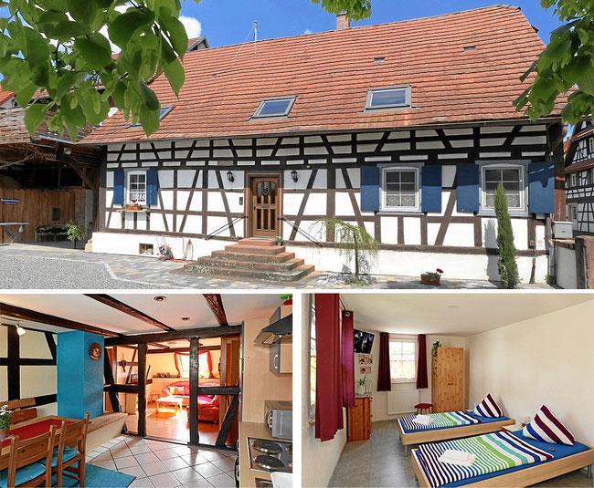Ilonas Gästehaus in 77974 Meissenheim. Ferienwohnungen, Zimmer und Monteurzimmer zu vermieten.