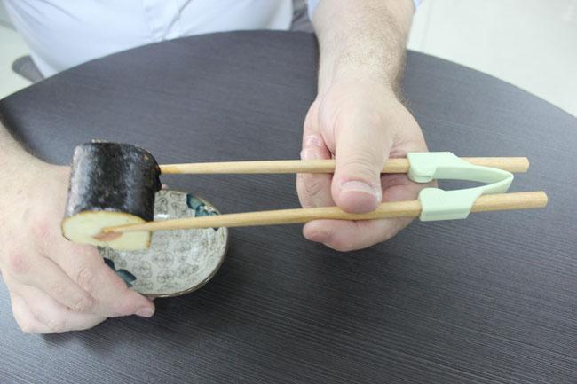 Chopstick helpers