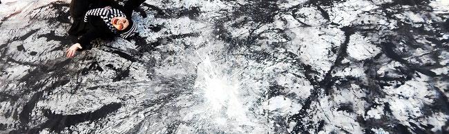 großformatige abstrakte Bilder