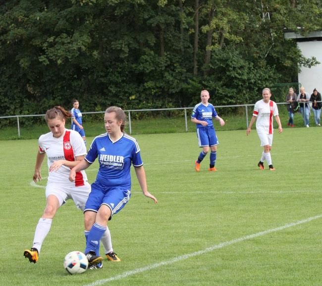 Laura Schell erzielte den Siegtreffer.