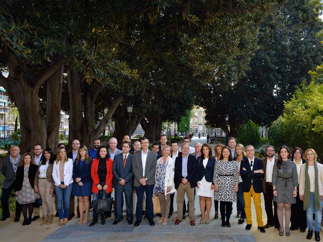 El Comité Electoral Regional ratifica la candidatura del municipio de Murcia