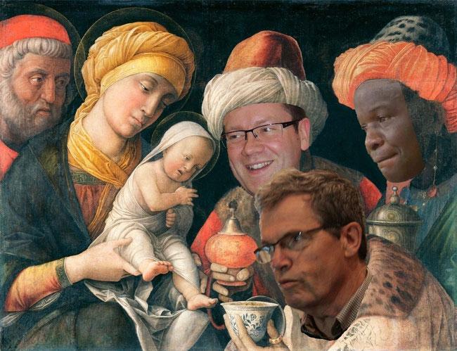 L'adoration des trois rois mages d'Alençon