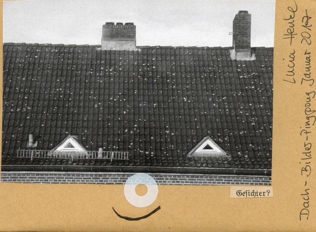 Freundliches Dachgesicht