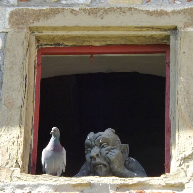 Taube und Teufel in Tückelhausen