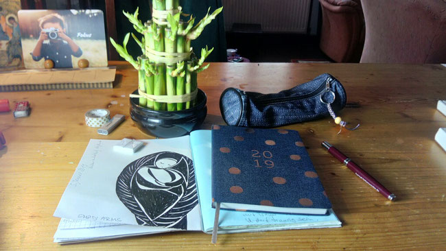 Mein Platz, Tagebuch schreiben, Fokus