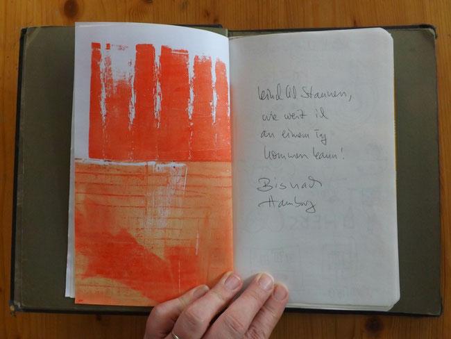 kreatives Schreiben im Reisetagebuch Travel Journal