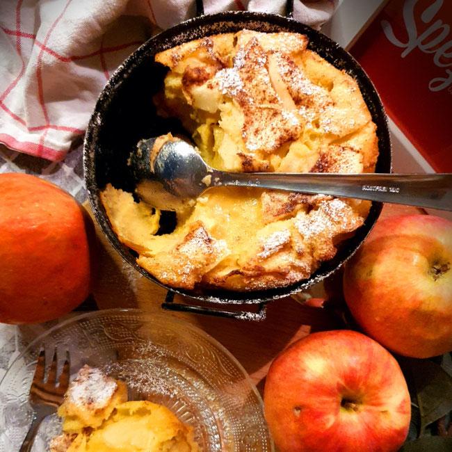 Der süße Tommerl mit Äpfel aus der Steiermark, regional-saisonal