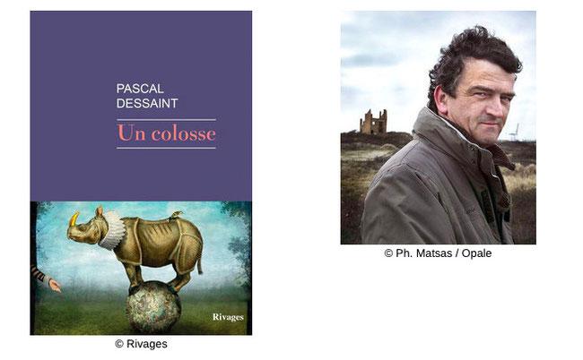 Couverture Un Colosse #Récit #Noir #Histoire #Enquête #Biographie #Destin #Tragique #Foires #Géant  #Teratologie #Différence #Société #Humanité Pascal Dessaint