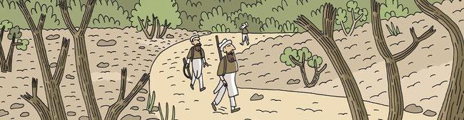 terroristes daesh afghanistan