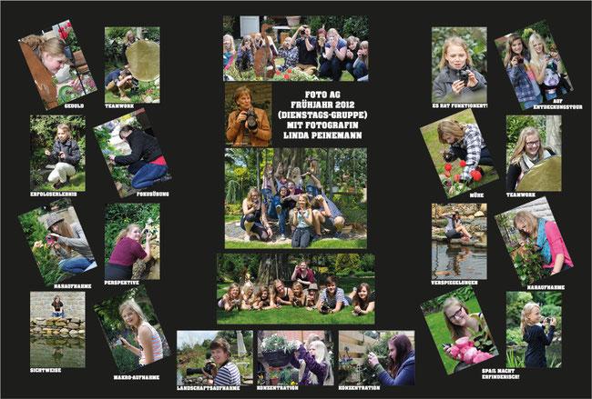 Foto AG Gymnasium Twistringen 2012 - Dienstagsgruppe