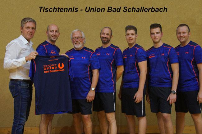 Tischtennis A-Mannschaft 2016