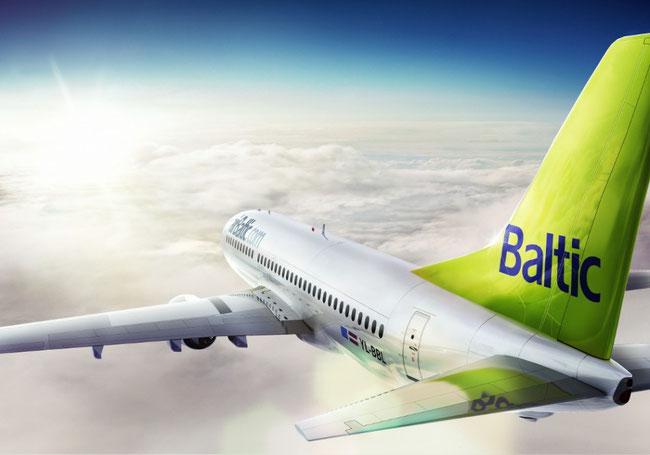 AirBaltic lėktuvas
