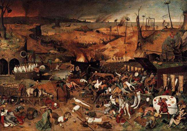 Pieter Bruegel l'Ancien - Le Triomphe de la Mort
