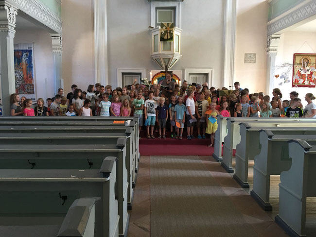 Gottesdienst Schulanfang