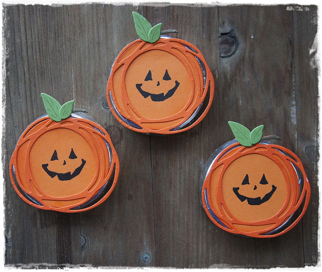stampin up - halloween - jar of haunts - swirly scribbles thinlits