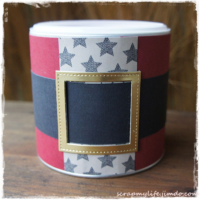 stampin up - weihnachten - stiched shapes framelits