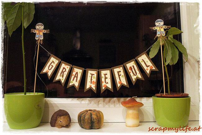 stampin up -herbst - cookie cutter halloween - elementstanze lebkuchenmännchen - banners framelits dies