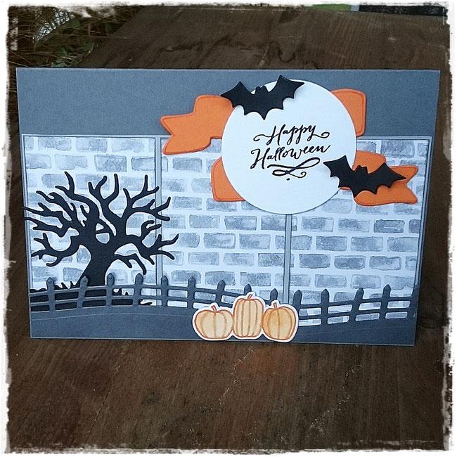 stampin up - halloween - gruselnacht - halloween-szenerie