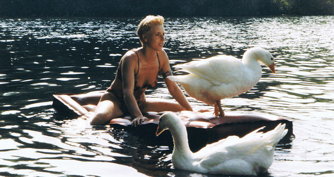 Judith Schmidt im Sommer 1998