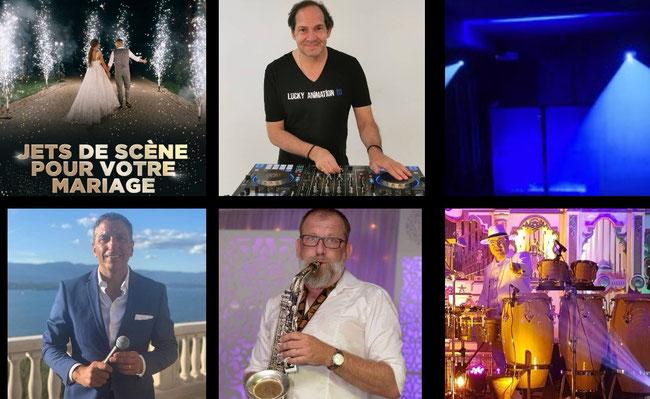 Lucky Animation DJ Live orchestre DJ Bar-Mitzvah et Mariage Juif à Lyon, Rhône, et Genève,
