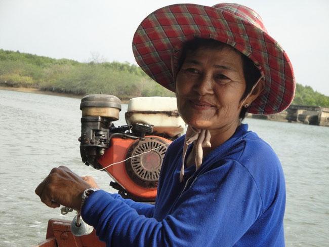 Fischersfrau in Hua Hin