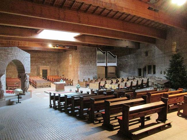 St. Willibrord Innenansicht