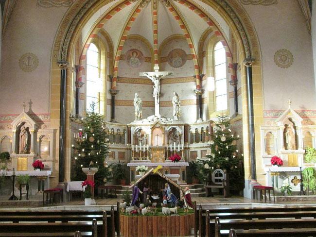 St. Remigius Innenansicht