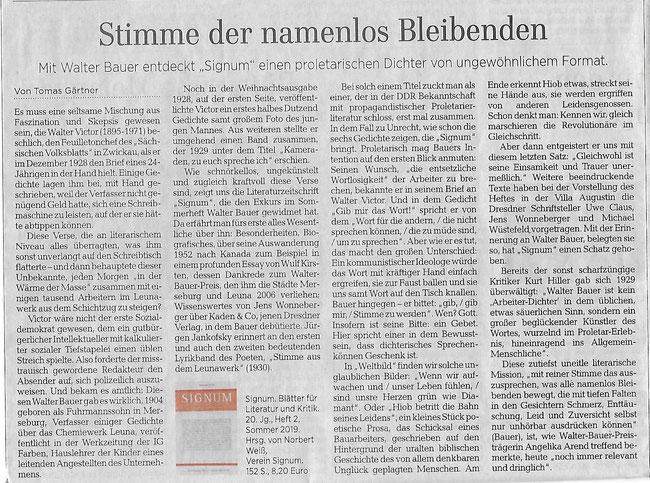 Walter Bauer News Juergen Jankofskys Webseite