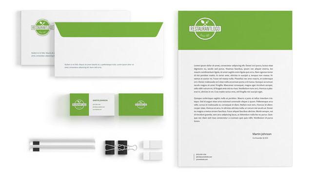pack Jimdo et 99designs - réalisation identité de marque pas chère