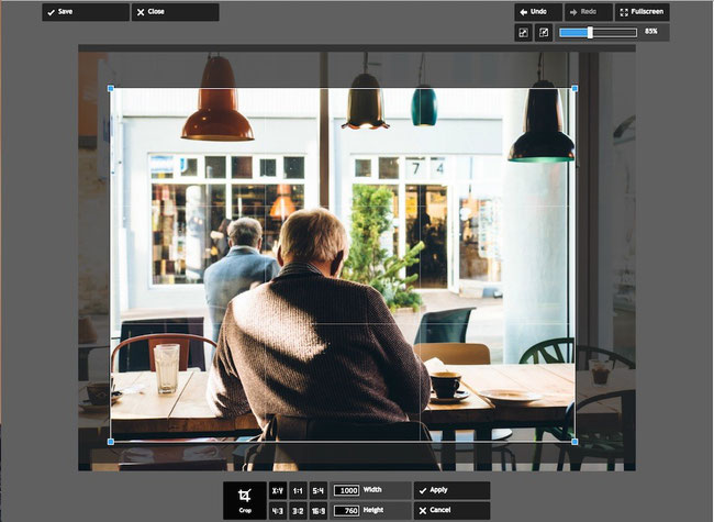 Recadrer une image dans Pixlr est très simple, essayez ce logiciel en ligne, c'est très simple et gratuit !