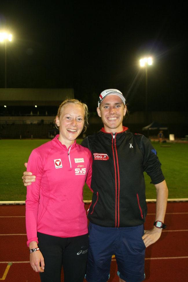 Co Coach Christoph und ich :)
