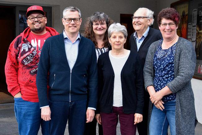 Vorstand Verein Kino Brienz - Foto von Zora Herren / Jungfrauzeitung