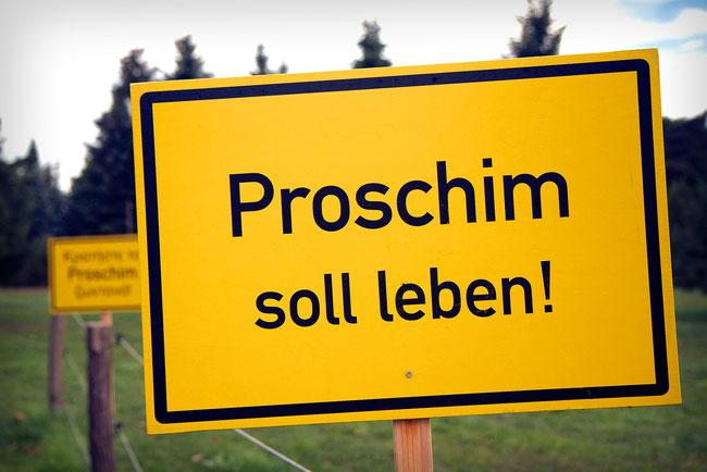 Überbleibsel des Lausitzer Energiecamps 2012 in Proschim