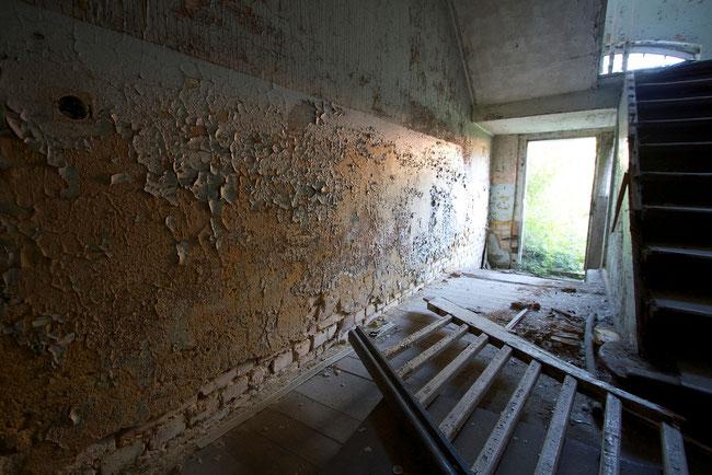 Verlassenes Wohnhaus in Haidemühl