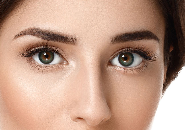 Treatments for the contour of the eyes
