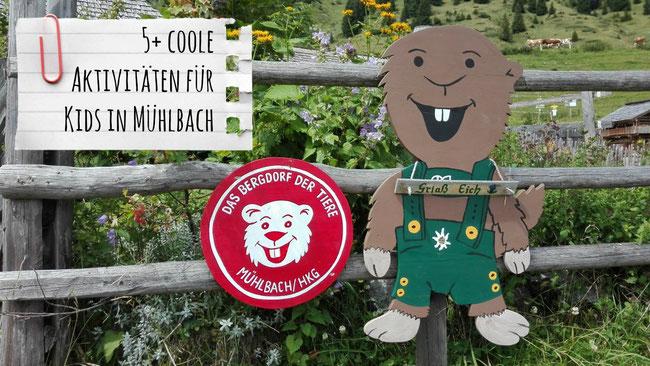 Mühlbach am Hochkönig, Bergdorf der Tiere, Kinder