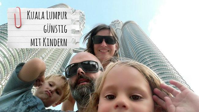 Kuala Lumpur, Malaysia, günstig, Kinder, Kind, Petronas Twin Towers, Familie, Reise, Weltreise, Asien, Südostasien, Franzlsontour, Franzls On Tour