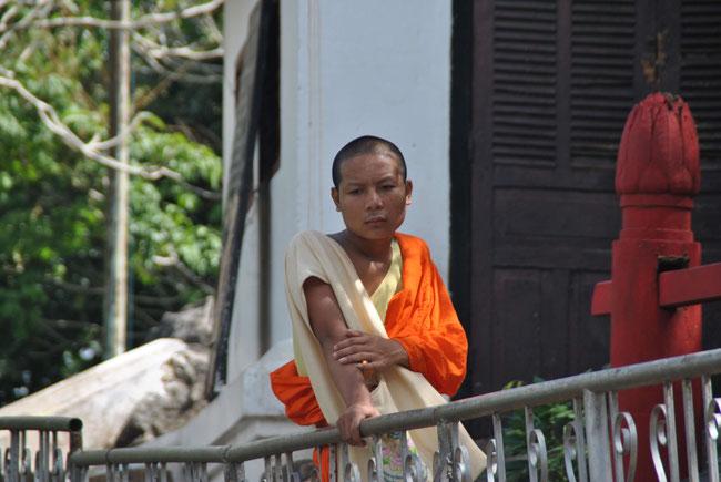 Luang Prabang Mönch Tempel