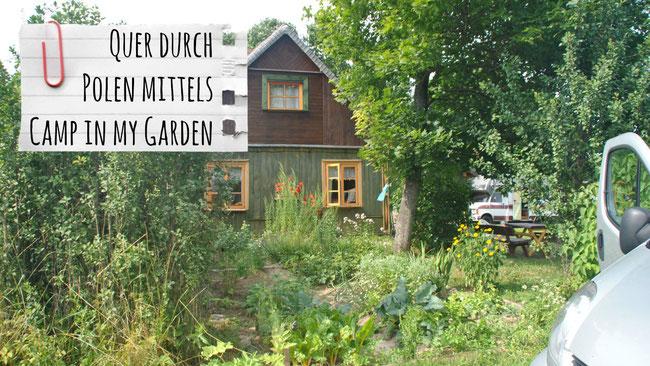 Camp in my Garden, campinmygarden, Polen, Under the Lindentree, Campingbus, Gartencamping, Franzls on Tour, franzlsontour, Reisen mit Kind, Abenteuer