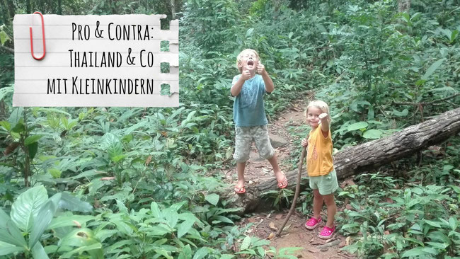 Laos/Malaysia/Thailand mit Kindern, Backpacking, Franzls On Tour