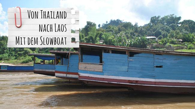 Slowboat Thailand Laos, Chiang Rai, Luang Prabang, Huay Xay, Pak Beng, Franzls On Tour, franzlsontour