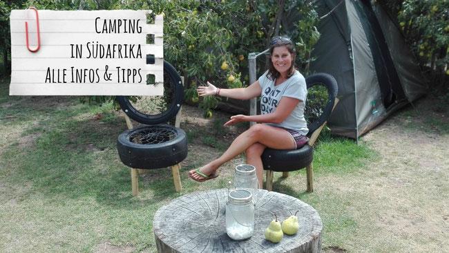 Camping in Südafrika