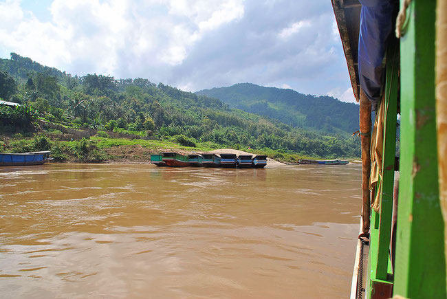Slowboat, Laos, Mekong