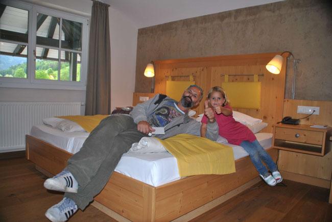 Kinderhotel Post Unken, Familienurlaub, Salzburgerland, Zimmer