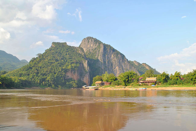 Slowboat, Mekong, Laos